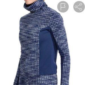 Nike Women/'s Pro Hyperwarm Pullover Long Sleeve Top Blue 933296-410 NEW